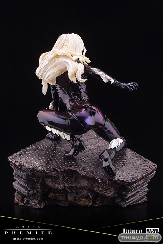 コトブキヤ ARTFX PREMIER MARVEL UNIVERSE ブラックキャット フィギュア 小抹香 08