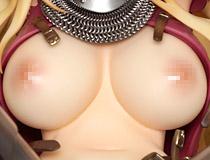 犬江しんすけさん描く王道の女騎士×くっころ案件イラストを立体化!ネイティブ「女騎士ヴァレリー」新作エロフィギュア彩色サンプル画像レビュー