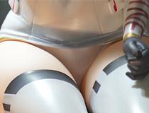 ミメヨイ新作美少女フィギュア「アズールレーン プリンス・オブ・ウェールズ -栄冠のビクトリーレーシング-」彩色サンプルがアキバで展示!