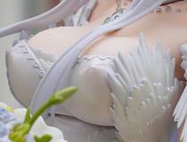 knead新作美少女フィギュア「アズールレーン エンタープライズ マリースターVer. 限定版」彩色サンプルがアキバで展示!