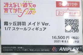 秋葉原の新作フィギュア展示の様子 2021年2月27日 13
