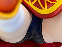 キャラアニ新作美少女フィギュア「CAworks アニメ『この素晴らしい世界に祝福を!』 めぐみん AnimeOpeningEdition」彩色サンプルが展示!【ワンホビ32】