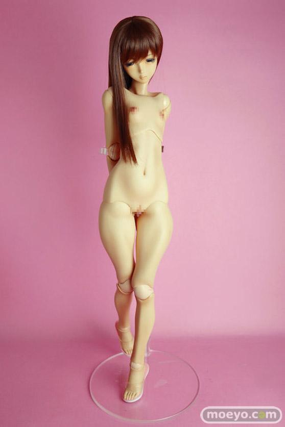 Real Art Project Pink Drops #57 涼香(スズカ):NEW日焼け跡ボディ QUARANTOTTO フィギュア 17