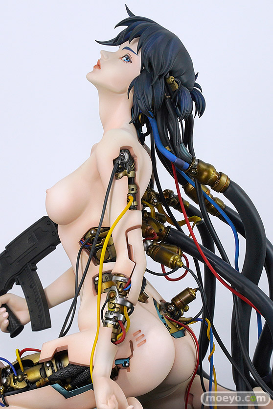 With Fans! GHOST IN THE SHELL/攻殻機動隊 草薙素子 にゃぱー 伊澤靖 POLY-TOYS フィギュア ワンホビ33 04