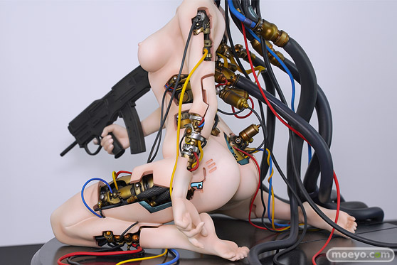With Fans! GHOST IN THE SHELL/攻殻機動隊 草薙素子 にゃぱー 伊澤靖 POLY-TOYS フィギュア ワンホビ33 06