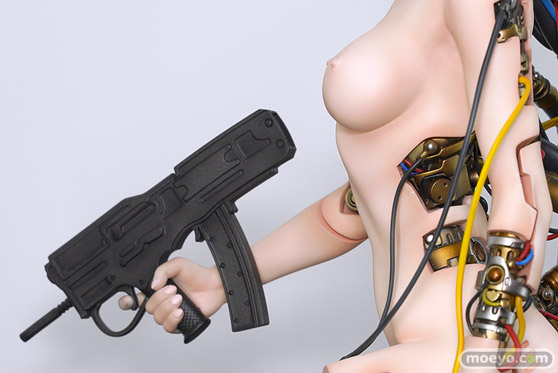 With Fans! GHOST IN THE SHELL/攻殻機動隊 草薙素子 にゃぱー 伊澤靖 POLY-TOYS フィギュア ワンホビ33 08