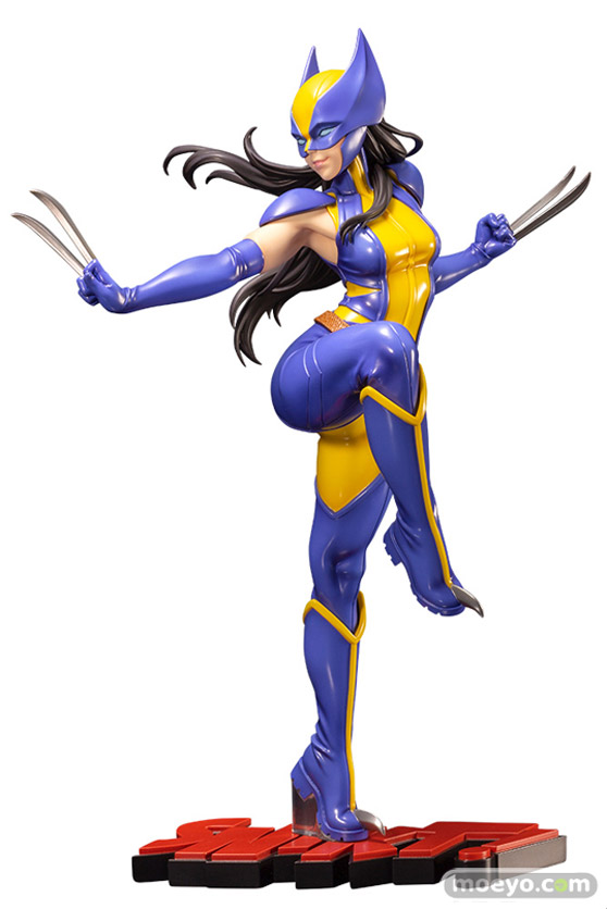 コトブキヤ MARVEL美少女 MARVEL UNIVERSE ウルヴァリン(ローラ・キニー) 燕 山下しゅんや フィギュア 21