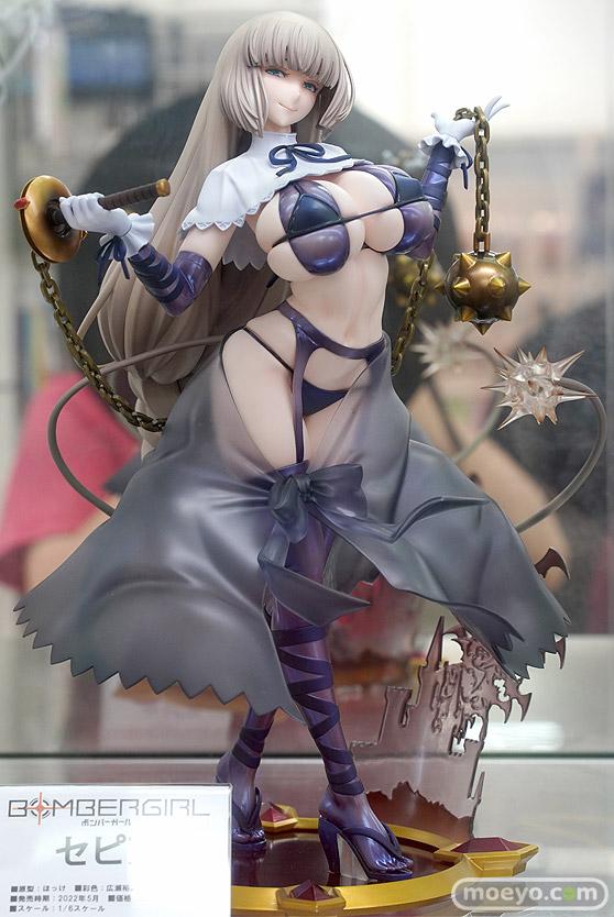 秋葉原の新作美少女フィギュア展示の様子 2021年8月9日 07