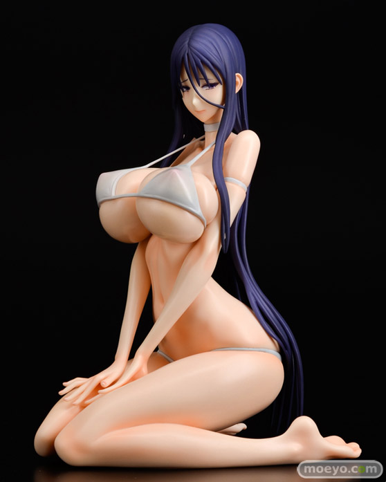 Q-six 魔法少女 ミサ姉 白ビキニver. とりあ ノルグレコ K2 RAITA フィギュア エロ キャストオフ 製品版 01